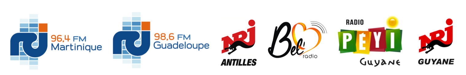 Groupe RCI, NRJ antilles, NRJ Guyane et Bel radio